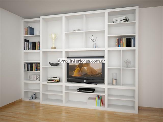 Diseños originales de muebles bibliotecas de buena calidad en Akra