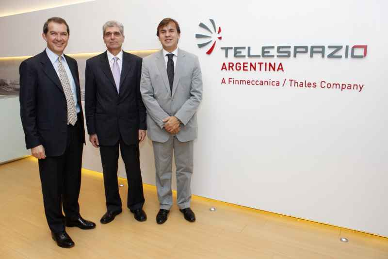 Edgardo Nicolas de Gracia integra el directivo de Telespazio Argentina